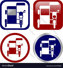philippine tricycle design philippine tricycle sign icon set royalty free vector image