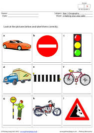 primaryleap co uk things you might find on your street worksheet