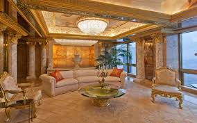 trumps home in trump tower inside donald trump s home in the trump tower all things real