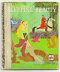 sleeping beauty disney golden book 1957 golden