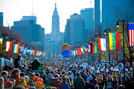 the philly thanksgiving day parade with whyfly