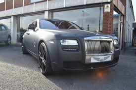 matte gray rolls royce second hand rolls royce ghost 4dr auto for sale in wednesbury
