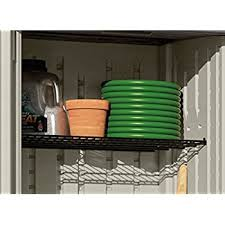 Free Standing Shed Shelves by Amazon Com Suncast Bms1500 Vertical Utility Shed Storage Sheds