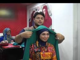 tutorial jilbab ala ivan gunawan ivan gunawan turorial hijab youtube