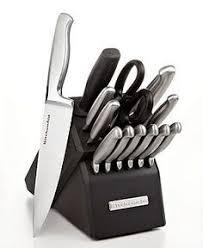 kitchen aid knives kitchenaid kkfss16cs architect series 16 pc stainless steel cutlery