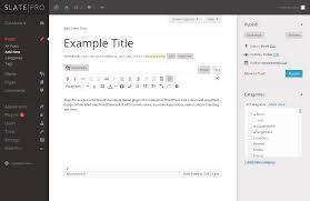 wordpress theme editor gone slate pro wordpress white label admin theme by sevenbold codecanyon