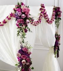 wedding flowers omaha janousek florist ceremony decorations color light chuppah dcor