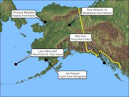 Alaska Map Images by Climate Change