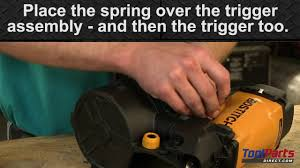 Bostitch Rn45b 1 Coil Roofing Nailer by How To Install A Sequential Trigger On A Bostitch Nailer Youtube