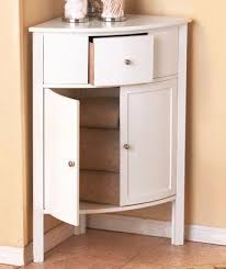White Corner Cabinet Bathroom Brilliant Corner Cabinet Bathroom Corner Bathroom Storage Cabinet