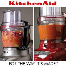 kitchen aid food processor kitchenaid 3 1 l food processor contour silver cookfunky