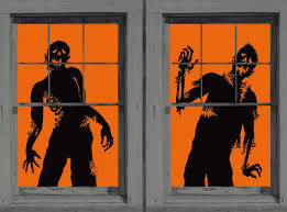 halloween window decor ideas 2017 mixture home