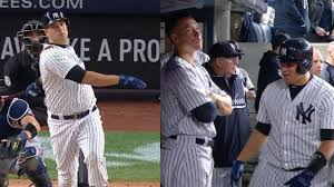 aaron judge gave some amazing silent treatment to gary sanchez and