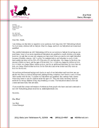 Semi Block Format Business Letter by Example Of Business Lettes The Best Letter Sample