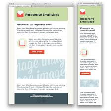creating a simple responsive html email email design responsive