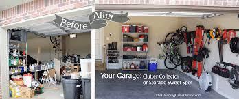 garage organization the cleaning crew llc