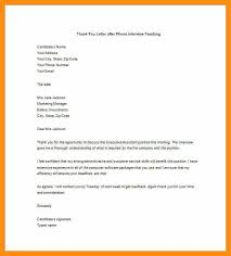 5 thanks letter for interview abstract sample