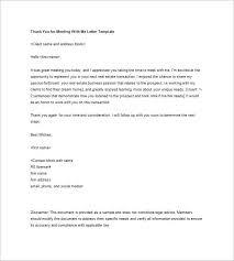 sample thank you follow up letter how to write a thank you follow