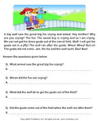 all worksheets free comprehension worksheets year 4 printable