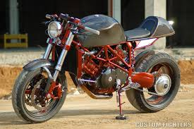 foh cycle fab cafe racer custom fighters