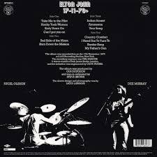 Country Comfort Elton John Elton John 17 11 70