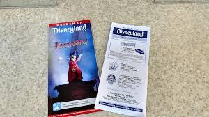 Disney Park Maps First Look At New Disneyland Park Maps For The Return Of Fantasmic