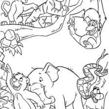 kids fun 62 coloring pages jungle book coloring pages jungle