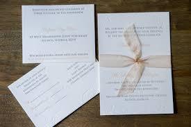 wedding invitations atlanta 110 lettra 3 color 3 invitation wedding invitations