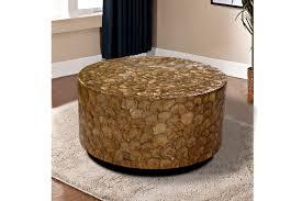 coffee table large coffee table metal drum side table rustic