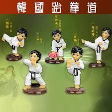south korean taekwondo doll graduation souvenir ornaments craft