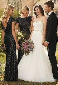 black bridesmaid dresses brilliant black bridesmaid dresses 17 best ideas about black
