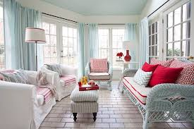 Modern Beachy Interiors 25 Cheerful And Relaxing Beach Style Sunrooms