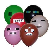 minecraft balloons best handmade minecraft party supplies catch my party