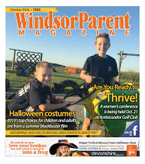 spirit halloween wages october 2016 issue by windsor parent issuu