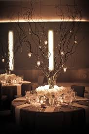 Black And Silver Centerpieces by Did Something Similar For Angela U0027s Wedding On The Sticks Were Not