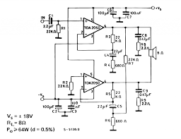 2 1 home theater circuit diagram tda2050 bridge amplifier circuit google search projects to try