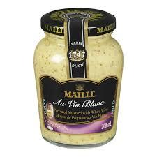 cuisine au vin blanc maille mild white wine mustard au vin blanc 200ml fresh st market