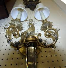 Bird Sconce Antique Lighting Page 2 Mill House Antiques