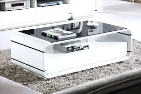 white and black coffee table high end coffee tables living room white gloss coffee table with