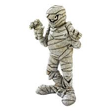 shop design toscano wrapped too tight mummy statue at lowes com