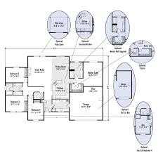 floor plans with great rooms the blakely custom home floor plan adair homes