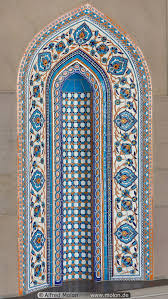ornamental windows photo architecture muscat oman