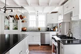 Pictures Of Kitchens With White Cabinets And Black Countertops 2017 Kitchen Trends Report