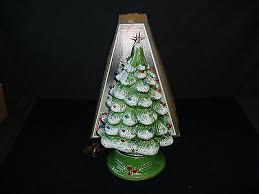 ceramic light up christmas tree ceramic light up christmas tree top ceramic bisque ready to paint