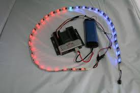 vex robotics led lights make a robotic led light display