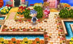 fall thanksgiving themed pathway for acnl linked to picture