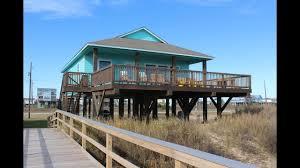 la belle texas beach front rental home surfside texas youtube