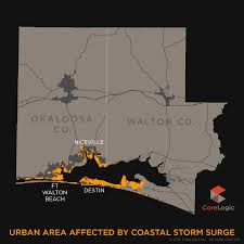 South Walton Florida Map by 2015 Storm Surge Maps