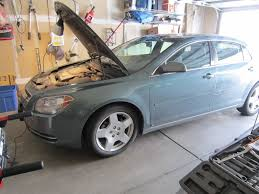 tutorial replacing the headlight 2009 chevy malibu a womans