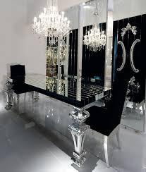 black dining room sets mirrored dining room table with dining room mirrored table